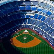 AErial view of the New Yankee Stadium, Bronx NY