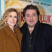 NLD/Amsterdam/20180122 - Filmpremiere Het leven is vurrukkulluk, Leon de Winter en partner Jessica Durlacher