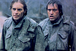 May 15, 2017 - Hollywood, USA - SOUTHERN COMFORT (1981)..KEITH CARRADINE, POWERS BOOTHE..STCF 020..MOVIESTORE COLLECTION LTD..Credit: Moviestore Collection/face to face..- Editorial use only  (Credit Image: © face to face via ZUMA Press)