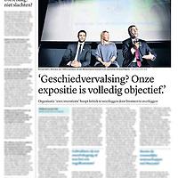 Tekst en beeld zijn auteursrechtelijk beschermd en het is dan ook verboden zonder toestemming van auteur, fotograaf en/of uitgever iets hiervan te publiceren <br /> <br /> Trouw 1 oktober 2014: tentoonstelling 1001 inventions in Rotterdam