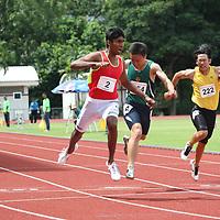 A Division Boys 100m