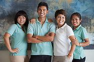 In villa staff at Lime Villa 4, a luxury private, ocean view villa, Koh Samui, Surat Thani, Thailand