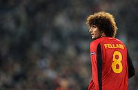 FUSSBALL  INTERNATIONAL  EM 2012  QUALIFIKATION  Deutschland - Belgien                              11.10.2011 Marouane FELLAINI (Belgien)
