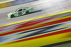 March 2, 2018 - Las Vegas, Nevada, United States of America - March 02, 2018 - Las Vegas, Nevada, USA: Kyle Busch (18) brings his race car down the front stretch during practice for the Boyd Gaming 300 at Las Vegas Motor Speedway in Las Vegas, Nevada. (Credit Image: © Chris Owens Asp Inc/ASP via ZUMA Wire)