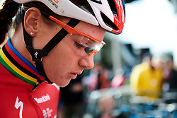 Chantal Blaak (NED) at Ronde van Drenthe 2019, a 165.7 km road race from Zuidwolde to Hoogeveen, Netherlands on March 17, 2019. Photo by Sean Robinson/velofocus.com