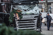 Day after the terror attack in Berlin