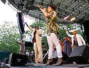 The Jazz Mafia perform at Central Park SummerStage on July 2, 2011 in New York City.