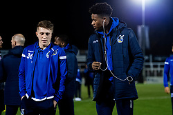 Cameron Hargeaves and Alexis Andre Jr - Mandatory by-line: Ryan Hiscott/JMP - 19/11/2019 - FOOTBALL - Hayes Lane - Bromley, England - Bromley v Bristol Rovers - Emirates FA Cup first round replay