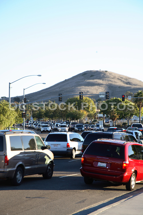 Morning Traffic on Pico in Front of San Clemente High School