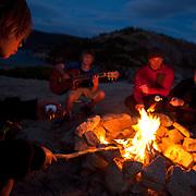 Ryan Zellers, Dylan Zellers, Matt Underhill & Marin Underhill - Bear River Reservoir, CA