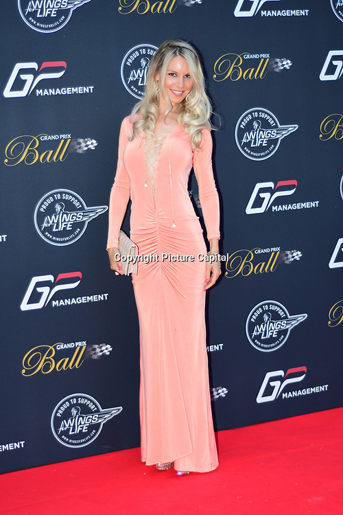 Guest attends the 2018 Grand Prix Ball held at The Hurlingham Club on July 4, 2018 in London, England.