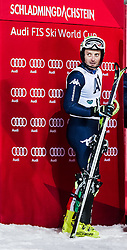 26.01.2016, Planai, Schladming, AUT, FIS Weltcup Ski Alpin, Schladming, Slalom, Herren, 2. Durchgang, im Bild Manfred Moelgg (ITA) // Manfred Moelgg of Italy reacts after his 2nd run of men's Slalom Race of Schladming FIS Ski Alpine World Cup at the Planai in Schladming, Austria on 2016/01/26. EXPA Pictures © 2016, PhotoCredit: EXPA/ Johann Groder