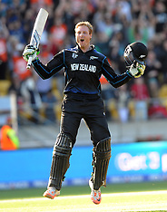 Wellington-Cricket, CWC. New Zealand v West Indies
