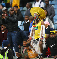 Durban 08-09-18 Bafana Bafana supporters with mixed imotions  during the African Nations qualifier against Libya at Moses Mabhida stedium<br /> Picture Bongani Mbatha African News Agency (ANA)