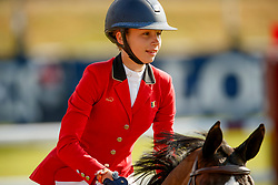 Putters Evelyne, BEL, Angel van T Hof<br /> European Championship Children, Juniors, Young Riders - Fontainebleau 1028<br /> © Hippo Foto - Dirk Caremans<br /> Putters Evelyne, BEL, Angel van T Hof