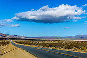 California, U.S. Route 395 - Three Flags Highway
