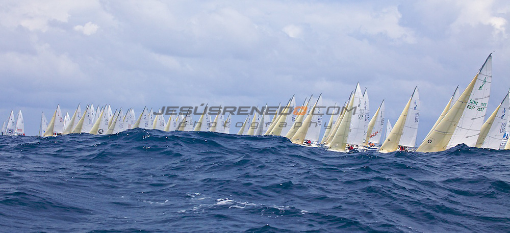 santader worlds j80,regatas 1-2-3