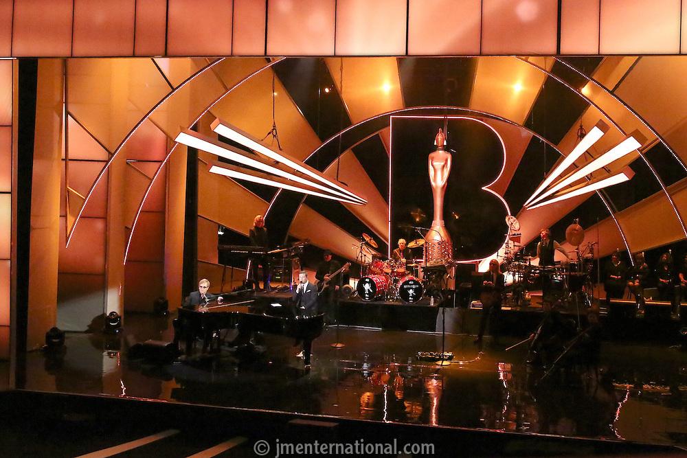 The BRITs Icon 2013 Elton John held at the London Palladium, London.<br /> Monday, 2,9,13 (Photo/John Marshall JME)