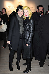 Left to right, SHARLEEN SPITERI and PAM HOGG at a private view of Masters of Photography - A Journey presented by Macallan and Albert Watson held at Philips De Pury, Howick Place, London SW1 on 1st December 2010.