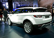 30.SEPTEMBER.2010. PARIS<br /> <br /> RANGE ROVER EVOQUE AT THE PARIS INTERNATIONAL MOTOR SHOW, AT THE PARIS EXPO, IN FRANCE.<br /> <br /> BYLINE: EDBIMAGEARCHIVE.COM<br /> <br /> *THIS IMAGE IS STRICTLY FOR UK NEWSPAPERS AND MAGAZINES ONLY*<br /> *FOR WORLD WIDE SALES AND WEB USE PLEASE CONTACT EDBIMAGEARCHIVE - 0208 954 5968*