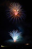 Hamptonburgh, New York - Orange County's 2017 Freedom Fest fireworks show was held at Thomas Bull Memorial Park on July 15, 2017. The event featured music followed by fireworks.