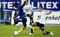 Fotball , 7. juli 2010 , 4. runde NM , Sandefjord - Rosenborg 1-4<br /> Markus Henriksen , RBK<br /> Malick Mane , Sandefjord