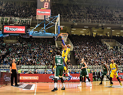 December 19, 2017 - Athens, Greece - Euroleague basketball game between Panathinaikos Superfoods Athens and Maccabi Fox Tel Aviv in Athens, Greece, 19 December 2017. (Credit Image: © Dimitris Lampropoulos/NurPhoto via ZUMA Press)