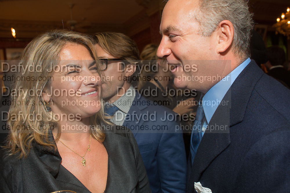 TRACEY EMIN; CHARLES FINCH, Charles Finch and  Jay Jopling host dinner in celebration of Frieze Art Fair at the Birley Group's Harry's Bar. London. 10 October 2012.