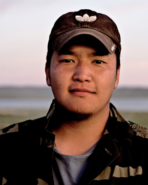 Portraits of Mongolian Man