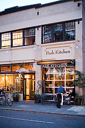 Park Kitchen at Dusk
