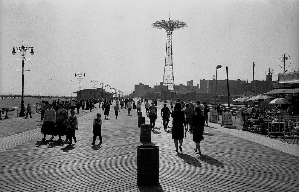 "Coney Island Boardwalk, Brooklyn, NYC...Part of long-term (2005-2008) story ""I See A Darkness"". New York, NY."