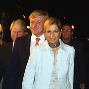 Premiere In de japanse stroomversnelling, Kroonprins Willem - Alexander en prinses Maxima Zorrequita