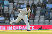 Jasprit Bumrah of India bowling during day two of the fourth SpecSavers International Test Match 2018 match between England and India at the Ageas Bowl, Southampton, United Kingdom on 31 August 2018.