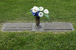 31 August 2017:   Veterans graves in Park Hill Cemetery in eastern McLean County.<br /> <br /> Robert L DeSanty  US Air Force  Vietnam  Dec 14 1945  Jun 28 2016