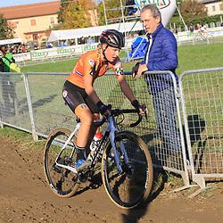 10-11-2019: Wielrennen: Europees Kampioenschap Veldrijden: Silvelle <br />Annemarie Worst