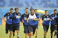 Claudio Marchsio of Italy during training at Arena das Dunas, Natal<br /> Picture by Stefano Gnech/Focus Images Ltd +39 333 1641678<br /> 23/06/2014