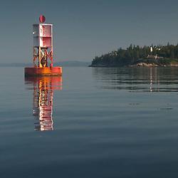 Castine Harbor Bell, Castine, Maine, US