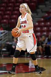 04 January 2015:  Katy Winge during an NCAA MVC (Missouri Valley Conference) women's basketball game between the Southern Illinois Salukis and the Illinois Sate Redbirds at Redbird Arena in Normal IL