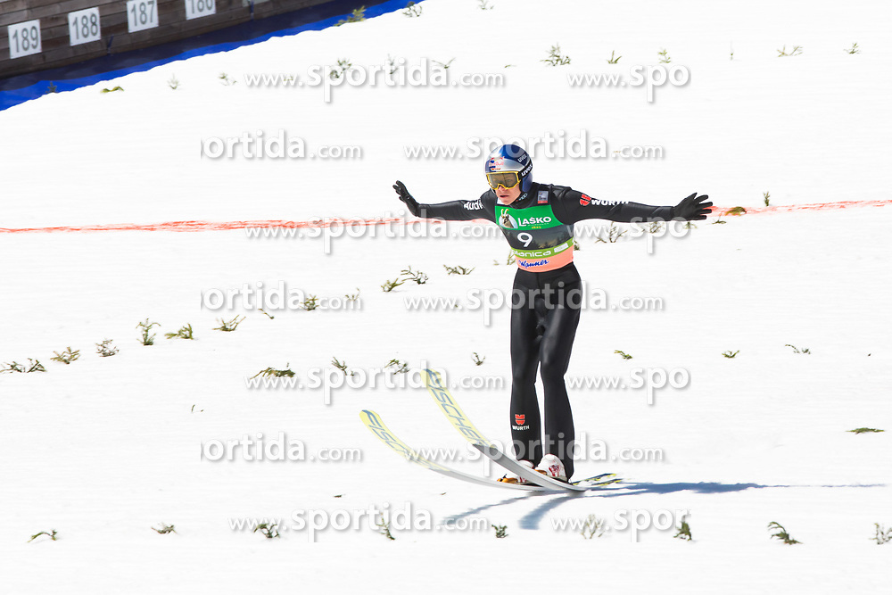 Andreas Wellinger (GER) during the 2nd round of the Ski Flying Hill Individual Competition at Day 4 of FIS Ski Jumping World Cup Final 2019, on March 24, 2019 in Planica, Slovenia. Photo Peter Podobnik / Sportida