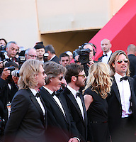 The cast and director of Killing Them Softly gala screening at the 65th Cannes Film Festival France. Tuesday 22nd May 2012 in Cannes Film Festival, France.