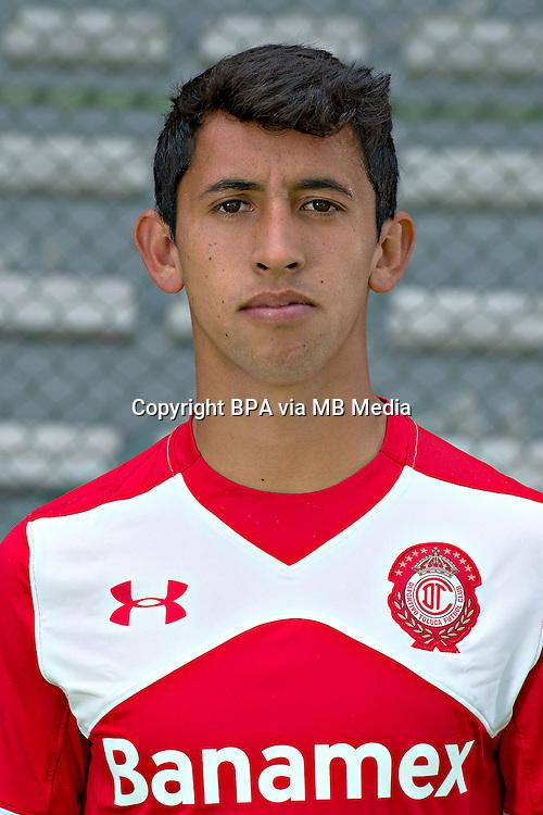 Mexico League - BBVA Bancomer MX 2015-2016 - <br /> Diablos Rojos - Deportivo Toluca Futbol Club - Mexico /  <br /> Diego Aguilar