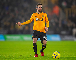 WOLVERHAMPTON, ENGLAND - Thursday, January 23, 2020: Wolverhampton Wanderers' João Moutinho during the FA Premier League match between Wolverhampton Wanderers FC and Liverpool FC at Molineux Stadium. (Pic by David Rawcliffe/Propaganda)