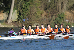 2012.02.25 Reading University Head 2012. The River Thames. Division 2. Lea Rowing Club IM2 8+