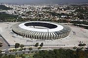 Belo Horizonte_MG, Brasil.<br /> <br /> Imagem aerea do Mineirao (Governador Magalhaes Pinto) na Pampulha.<br /> <br /> Aerial view of Mineirao (Governador Magalhaes Pinto) in Pampulha.<br /> <br /> Foto: LEO DRUMOND / NITRO