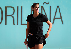 May 4, 2019 - Madrid, MADRID, SPAIN - Julia Goerges of Germany practices at the 2019 Mutua Madrid Open WTA Premier Mandatory tennis tournament (Credit Image: © AFP7 via ZUMA Wire)