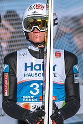 23.02.2019, Bergiselschanze, Innsbruck, AUT, FIS Weltmeisterschaften Ski Nordisch, Seefeld 2019, Skisprung, Herren, im Bild Daniel Huber (AUT) // Daniel Huber of Austria during the men's Skijumping HS130 competition of FIS Nordic Ski World Championships 2019 at the Bergiselschanze in Innsbruck, Austria on 2019/02/23. EXPA Pictures © 2019, PhotoCredit: EXPA/ Dominik Angerer