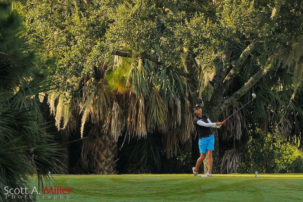 Paula Reto during the first round of the Symetra Tour Championship at LPGA International on Sept. 26, 2013 in Daytona Beach, Florida. <br /> <br /> <br /> ©2013 Scott A. Miller