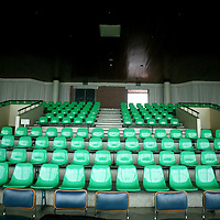 "PANMUNJOM, MAY-16:  an auditorium for "" North Korea watchers"" in the DMZ."