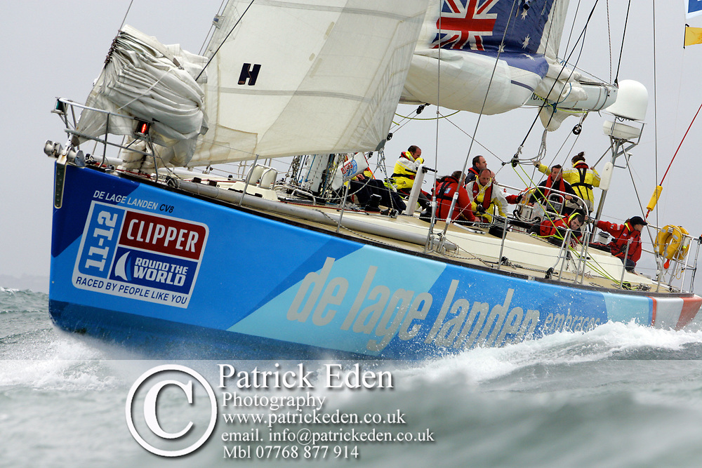 De Lage Landen Clipper,  P Morgan, Round the Island Race, 2011, Cowes, Isle of Wight, Photographs © Patrick Eden Sports Photography