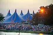 Nederland, Ewijk, 24-6-2016Vanmiddag begon het festival Down the Rabbit Hole , dtrh . De organisatie had veel moeite gedaan de water en modderoverlast, veroorzaakt door de hoosbuien van afgelopen week, tot een minimum te beperken . Foto: Flip Franssen